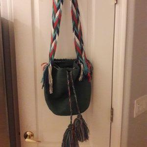 Cross Body BO Ho Chic Hand Crochet Shoulder Bag
